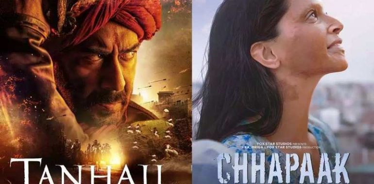 The box-office prediction of the upcoming movie Tanhaji&Chhapaak on 6th December 2019 by Renowned Tarot card reader & Numerologist Nupur Shriiram.