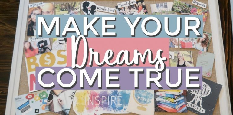 How to make Tarot Inspired Vision Board